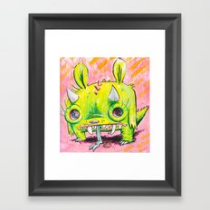 Spirit Animal: Subatomic Photo Muncher Framed Art Print