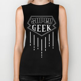 Super Geek Biker Tank