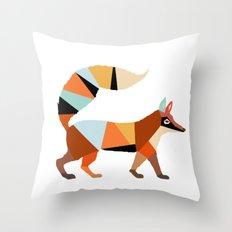 FOX ORIGAMI Throw Pillow
