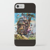 calcifer iPhone & iPod Cases featuring howl's moving castle by ururuty