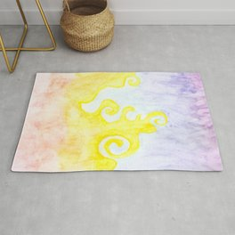 Sunset colours Rug