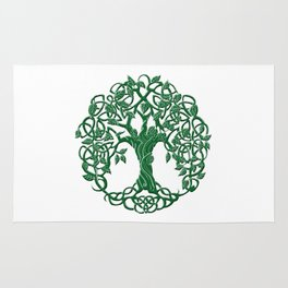 Tree of life green Rug