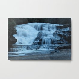 Triple Falls, NC, Fine Art Photography Metal Print