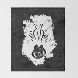 Be Wild Throw Blanket
