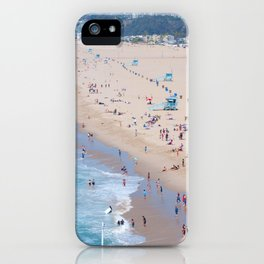 Santa Monica Beach I iPhone Case