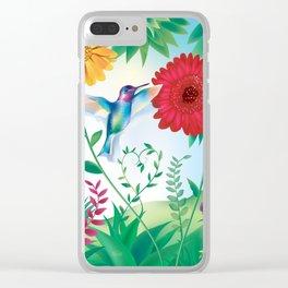 Wanga Nègès - Hummingbird Clear iPhone Case