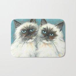 Himalayan Cats in Love Bath Mat