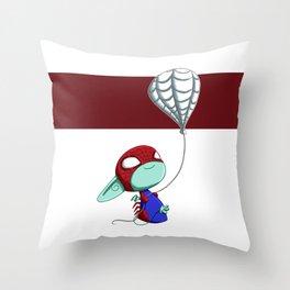 SpiderImp(ling) Throw Pillow