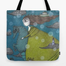 The Sea Voyage Tote Bag