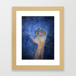 """hallelujah"" Framed Art Print"