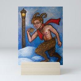 Holiday Mister Tumnus Mini Art Print