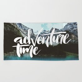 Adventure Time Beach Towel