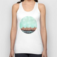 tooth Tank Tops featuring Sweet Tooth  by Laura Ruth