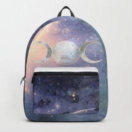 Heavenly Universe Triple Moon Goddess Backpack