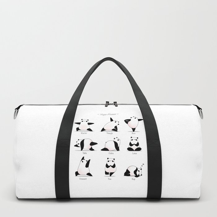 Yoga Panda II Duffle Bag