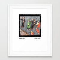 tintin Framed Art Prints featuring Tintin Toy by Cristina Ortiz Photo