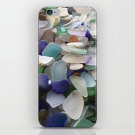 Sea Glass Assortment 2 iPhone Skin
