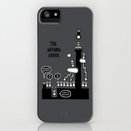 The Natural Order iPhone Case
