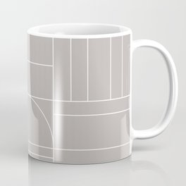 Deco Geometric 04 Grey Coffee Mug