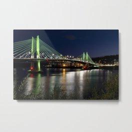 Tilikum Crossing Bridge Metal Print