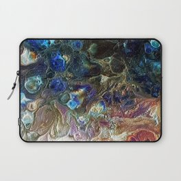 Currents 1 (Abstract Dachshund) Laptop Sleeve