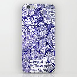 Funky Abstract Zendoodle iPhone Skin