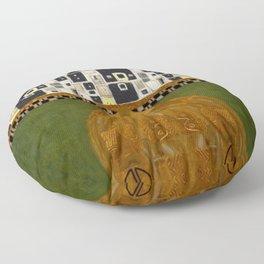 Gustav Klimt Patterns Floor Pillow
