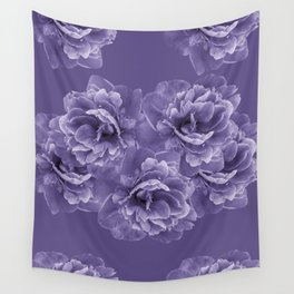 Ultra Violet Peony Flower Bouquet #1 #floral #decor #art #society6 Wall Tapestry