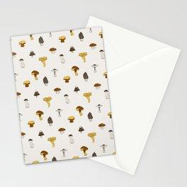 Mushroom Glaze Stationery Cards