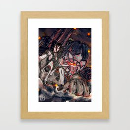 Battleship Princess Framed Art Print