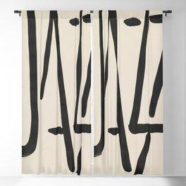 Jazz by Henri Matisse Blackout Curtain
