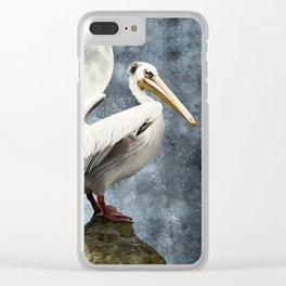 Pelican Night Clear iPhone Case