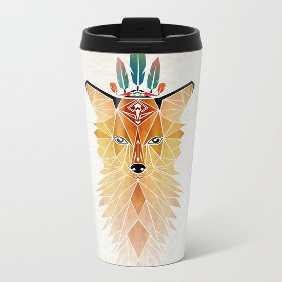 fox spirit  Metal Travel Mug
