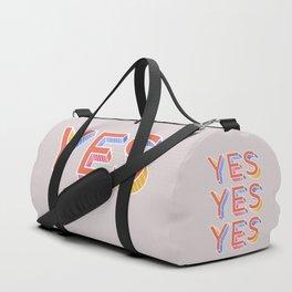 YES - typography Sporttaschen