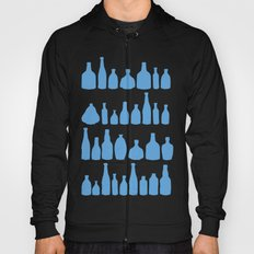 Bottles Blue Hoody