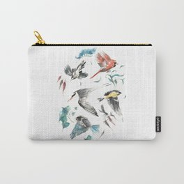 Birdwatching Carry-All Pouch