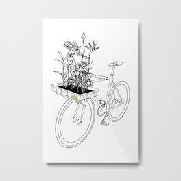 Wherever flowers go Metal Print