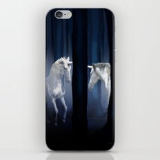 White Unicorns iPhone & iPod Skin