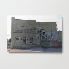 A Toledo Mural II Metal Print