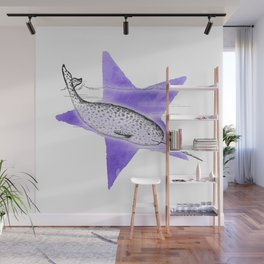 Narwhal Narwhal Wall Mural