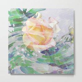 Rose Mist Metal Print