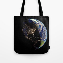 USA, light of the world Tote Bag