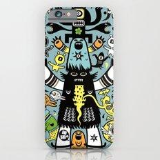 Guru Cat (blue time) iPhone 6s Slim Case
