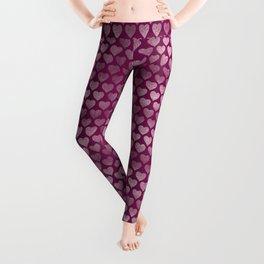 Hearts pattern Leggings