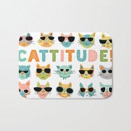 Cattitude Bath Mat