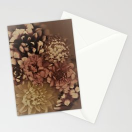 Drenched in Dahlia #1 Stationery Cards