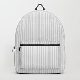 Pastel gray white vintage stylish geometrical stripes Backpack