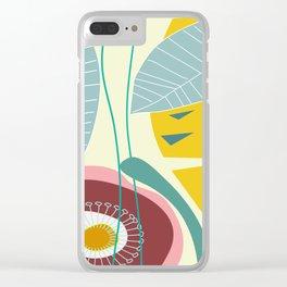Botanika 4 Clear iPhone Case