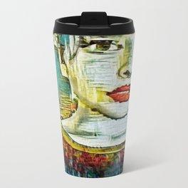 Serendipity Beyond Smashed Mirrors Travel Mug