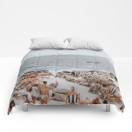 capri, italy Comforters
